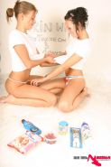 Pictures of 2 lesbian teens getting all messy