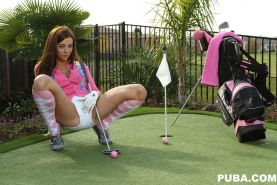 Taylor shows you a different side of golf you may not be used to.