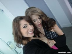 Teen BFFs Lexi and Sensi share absolutely everything