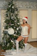 Pictures of teen Jordan Capri celebrating xmas with you