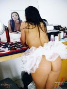 Pictures of teen amateur Audrey Bitoni toying her wet hole