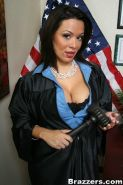 Busty judge Sienna West dishes out the best punishments