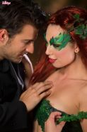 Aidra Fox makes passionate love as Poison Ivy to her new boyfriend