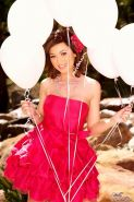 Pictures of Madison Scott getting naughty with her balloons