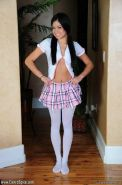 Pictures of teen Cierra Spice dressed for hot kinky sex