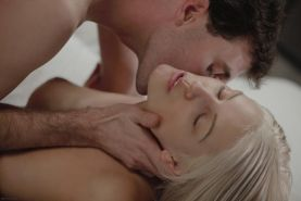 New European model Barbie and James Deen have a passionate roll in the sheets