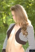 Pictures of german teen Sarah teasing outside