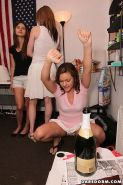 Crazy hot college teen fucked hard in these real amatuer beer sex party