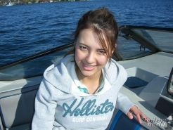 Pictures of teen girl Bailey's Room stripping on a boat