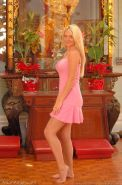 Pictures of Alison Angel showing you her sweet pussy