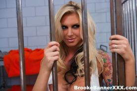 Pictures of Brooke Banner getting fucked hard in prison