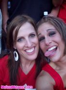 Pictures of teen Melissa Midwest flashing at a huskers game