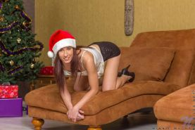 Ultra hot Minnie Magna has been naughty this year and santa will love it