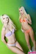 Pictures of Jana Jordan and Brea Bennett enjoying some play time together