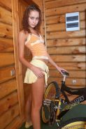 Pictures of teen Natasha Shy fucking her bicycle
