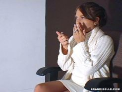 Pictures of Brandi Belle getting fucked Sharon Stone style
