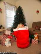 Blonde teen Sexy Pattycake offers herself to you for christmas
