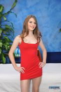 Cute 18 year old brunette massage therapist Alice gives a little more than a massage!