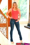 Hot teen Lily Rader gives her boyfriend a threesome with her step mom Cory Chase