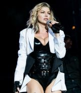 Cleavage Photos of Fergie